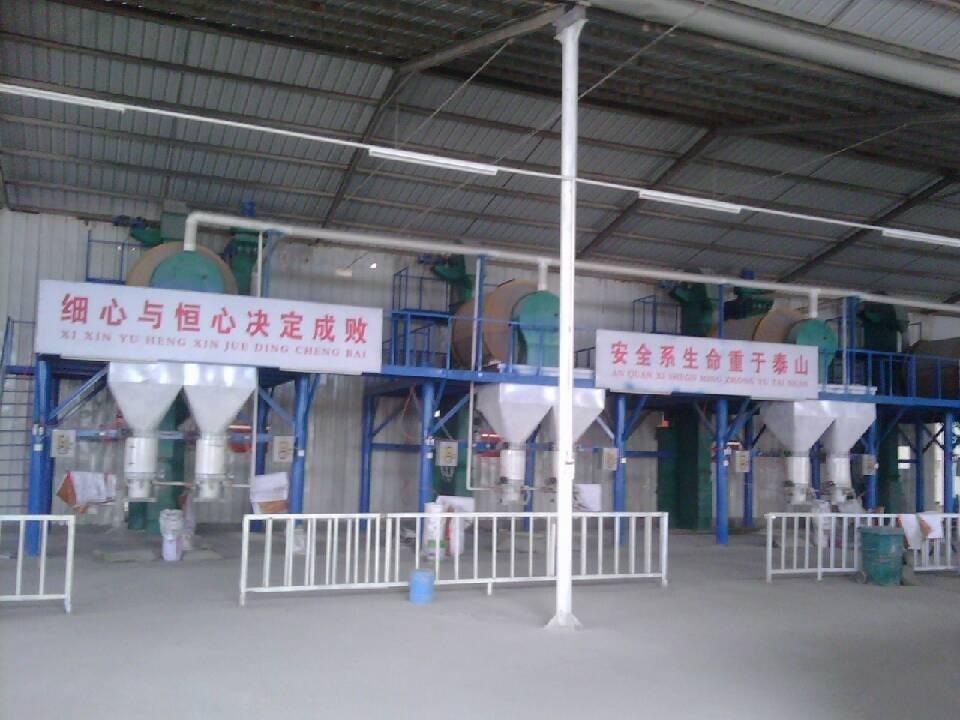 保温砂浆多条生产线
