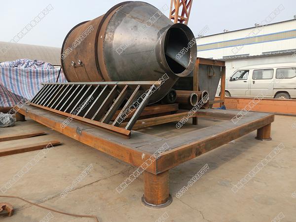 保温砂浆搅拌机框架