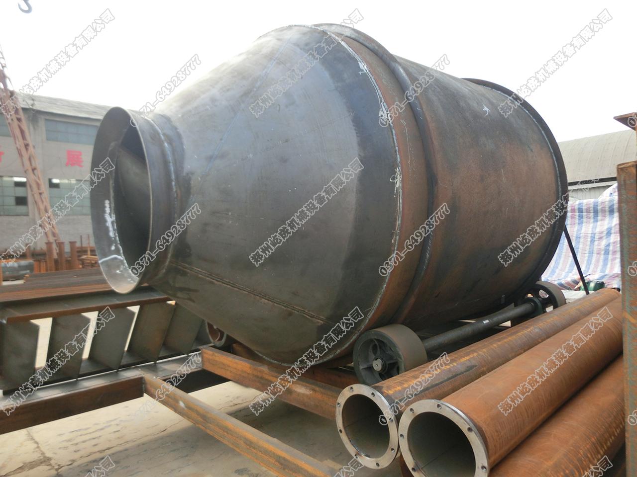 保温砂浆搅拌机侧面图